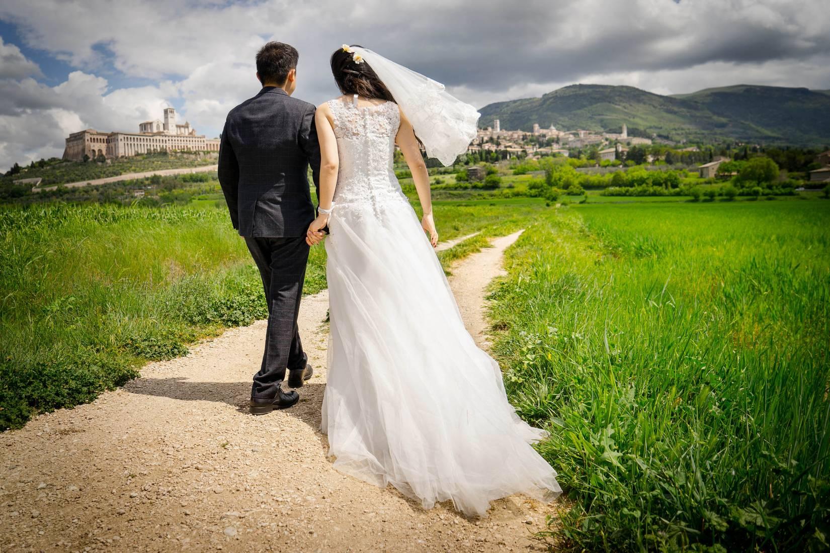 Matrimonio in privato - Villamena Resort Assisi