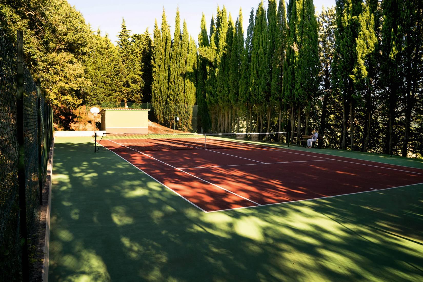 Campo da tennis - Villamena Resort Assisi
