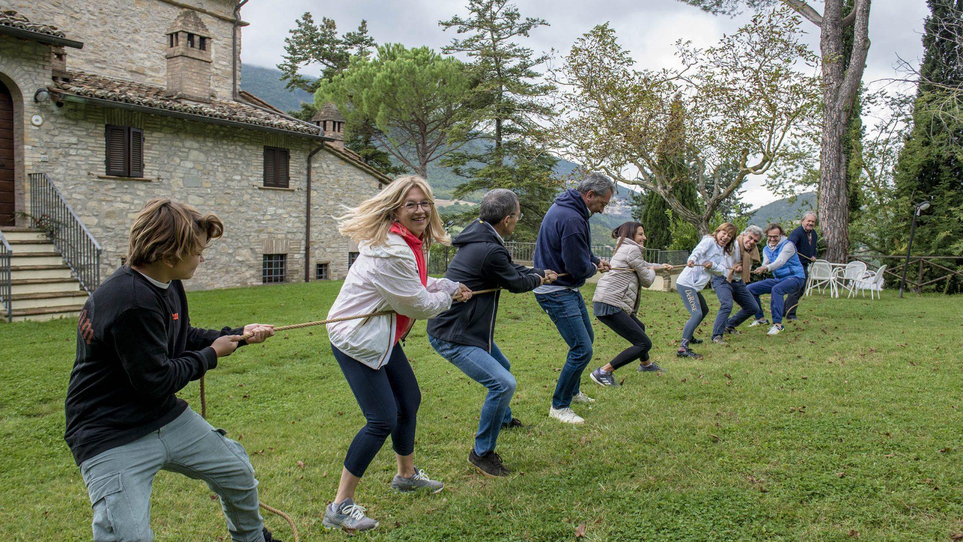 Team building - Villamena Resort Assisi